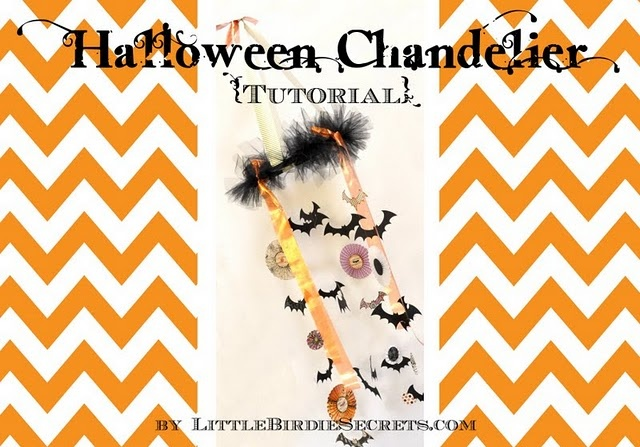 Halloween ChandelierKids Bedrooms, Halloween Decor, Diy Crafts, Diy Chandelier, Kids Crafts, Crafts Kids, Chand Tutorials, Birdie Secret, Halloween Chandeliers