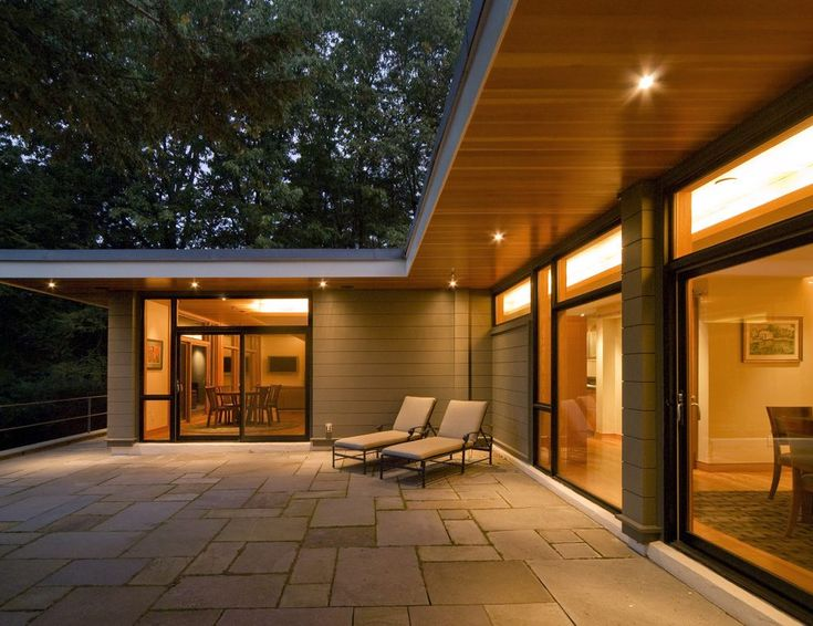 wood soffit exterior contemporary with pavers contemporary outdoor folding chairs