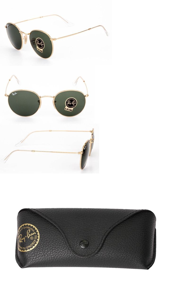 814f402fdf43 ... australia ebay ray ban sunglasses sunglasses 155189 new ray ban round  metal arista gold unisex sunglasses ...