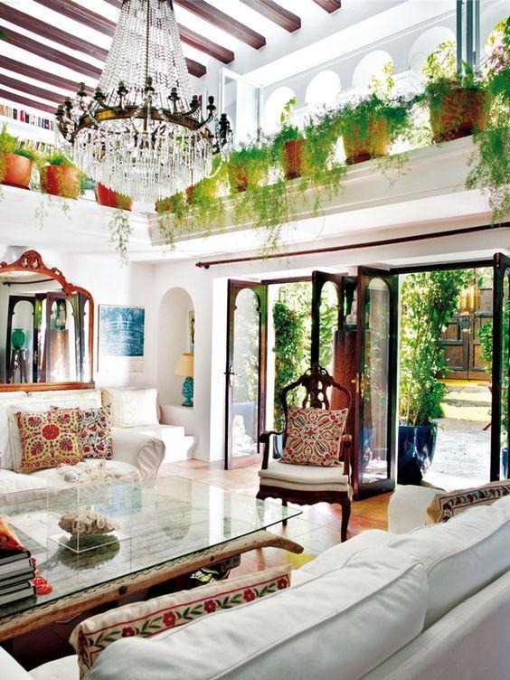 Benefícios das plantas dentro de casa