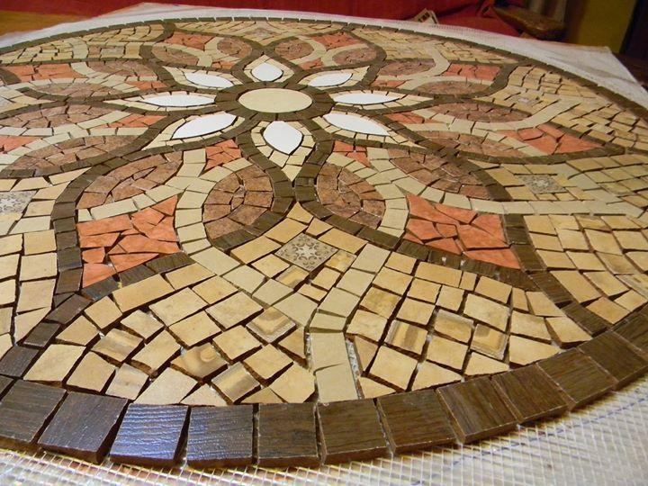 seminario de mosaiquismo en malla especial mandalas On diseno de mosaicos en ceramica