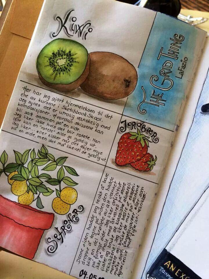 Artist Annika Sylte - Sketchbook Skool   Art -- Journal ...