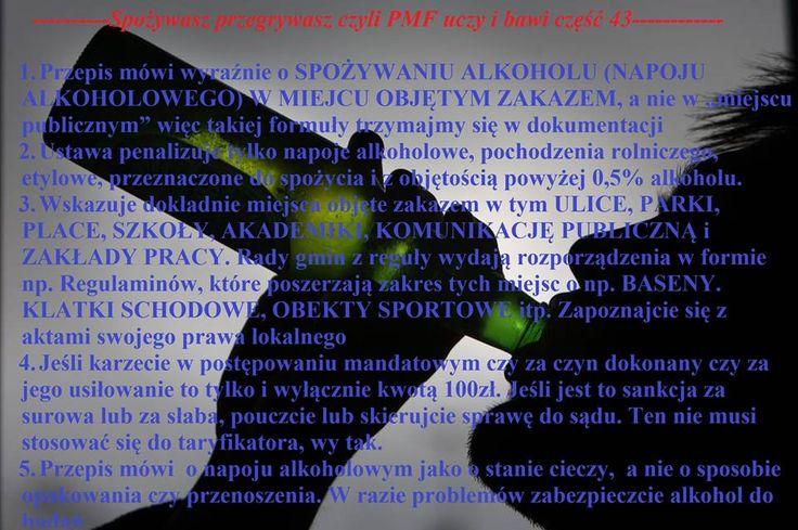 SPOŻYWANIE ALKOHOLU https://www.facebook.com/policemf/photos/a.719441984817689.1073741845.526082820820274/712137215548166/?type=3&permPage=1