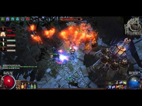 Path of Exile looting and leveling