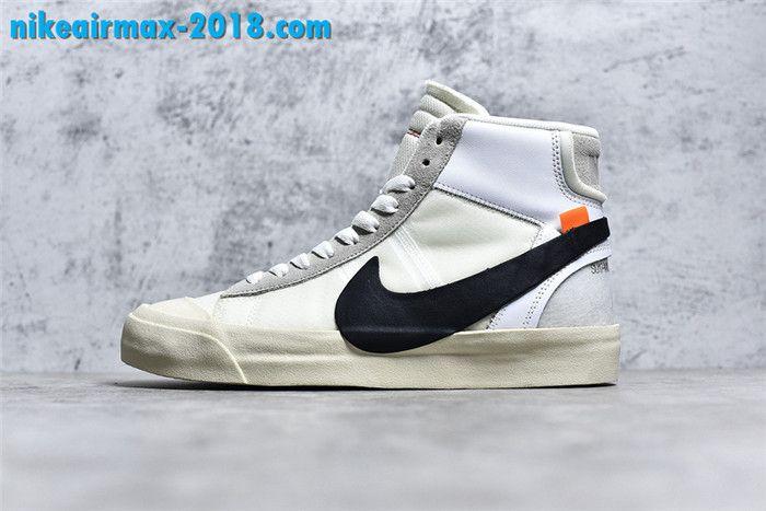 a6eea8b92f4a7 Super Perfect) OFF-White x Nike Blazer Mid AA3832-100 | OFF-WHITE X ...