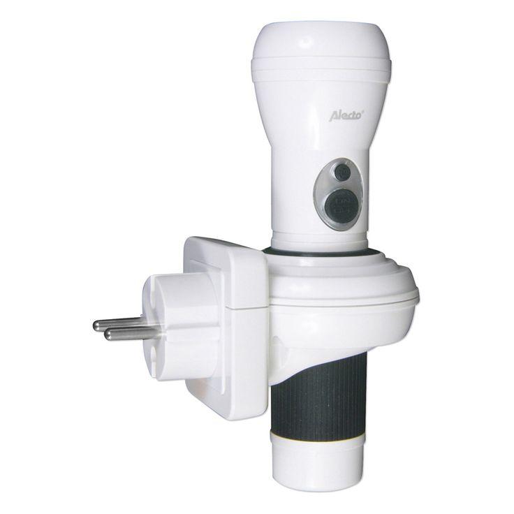 Oplaadbare led zaklamp / nachtlamp, Blokker, € 12