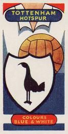 1958 Football Clubs and Badges #11 Tottenham Hotspur Front