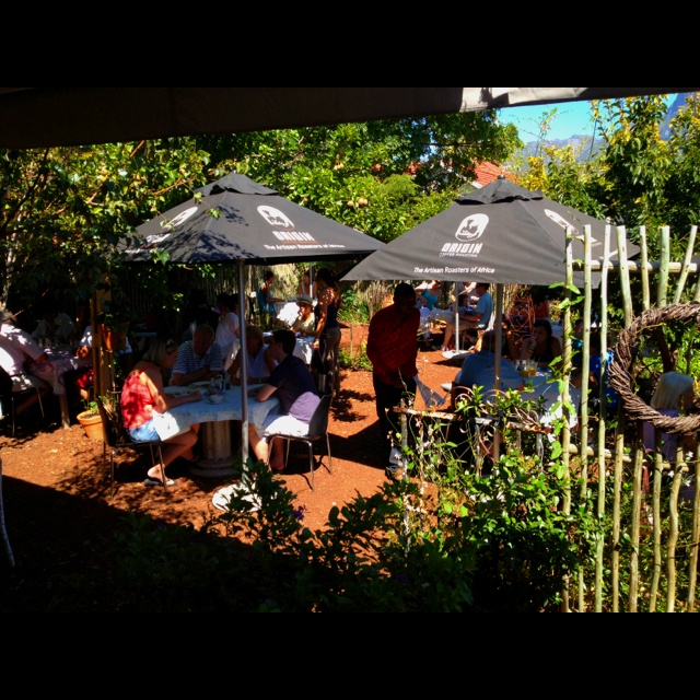 Starlings, Rondebosch, Cape Town - great setting, great coffee, great food...