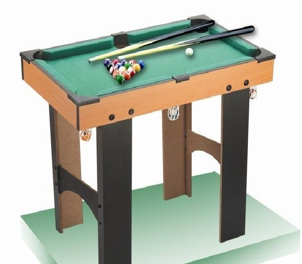 Tigris Wholesale Kids' Small Pool Table on Legs - Availability: in stock - Price: £41.99
