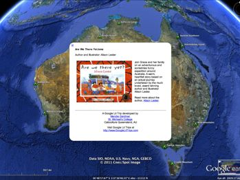 Are We There Yet? by Alison Lester Google Earth virtual trip download
