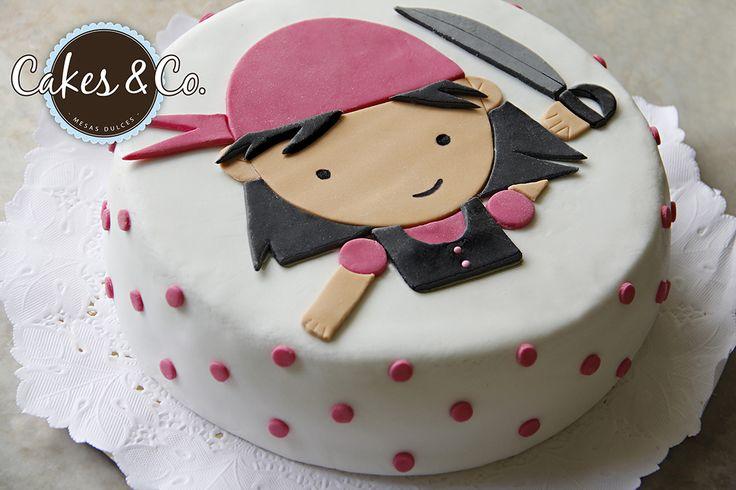 tortas de piratas para niña - Buscar con Google