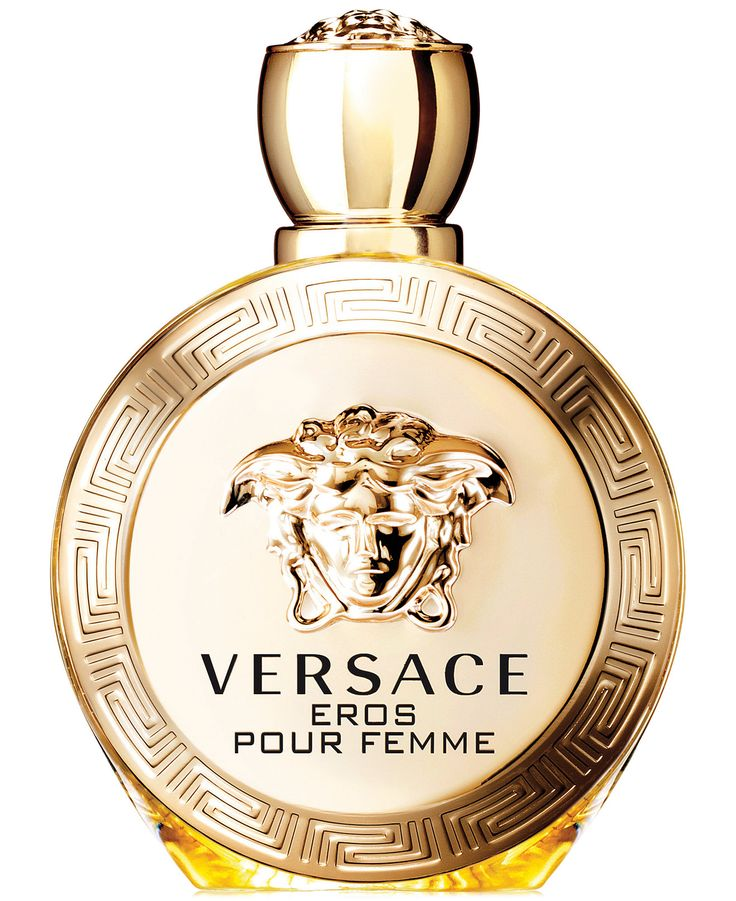 The primal power of a woman, captured in a radiant, sensual essence. A new legend from Versace, bursting with the passion of when Eros meets his true love, Pour Femme - but who's seducing who? An invi