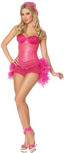 Mystery House Flamingo Showgirl Costume, Pink, Large Mystery House,http://www.amazon.com/dp/B007KX2YZO/ref=cm_sw_r_pi_dp_.Sl1sb069Q9CXTM0