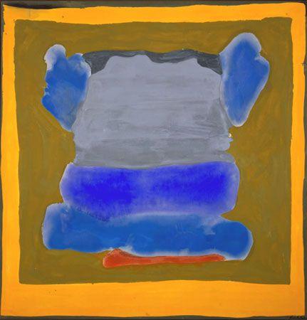 Buddha's Court - Helen Frankenthaler