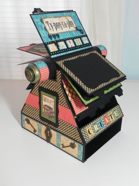 Love this rolodex look!