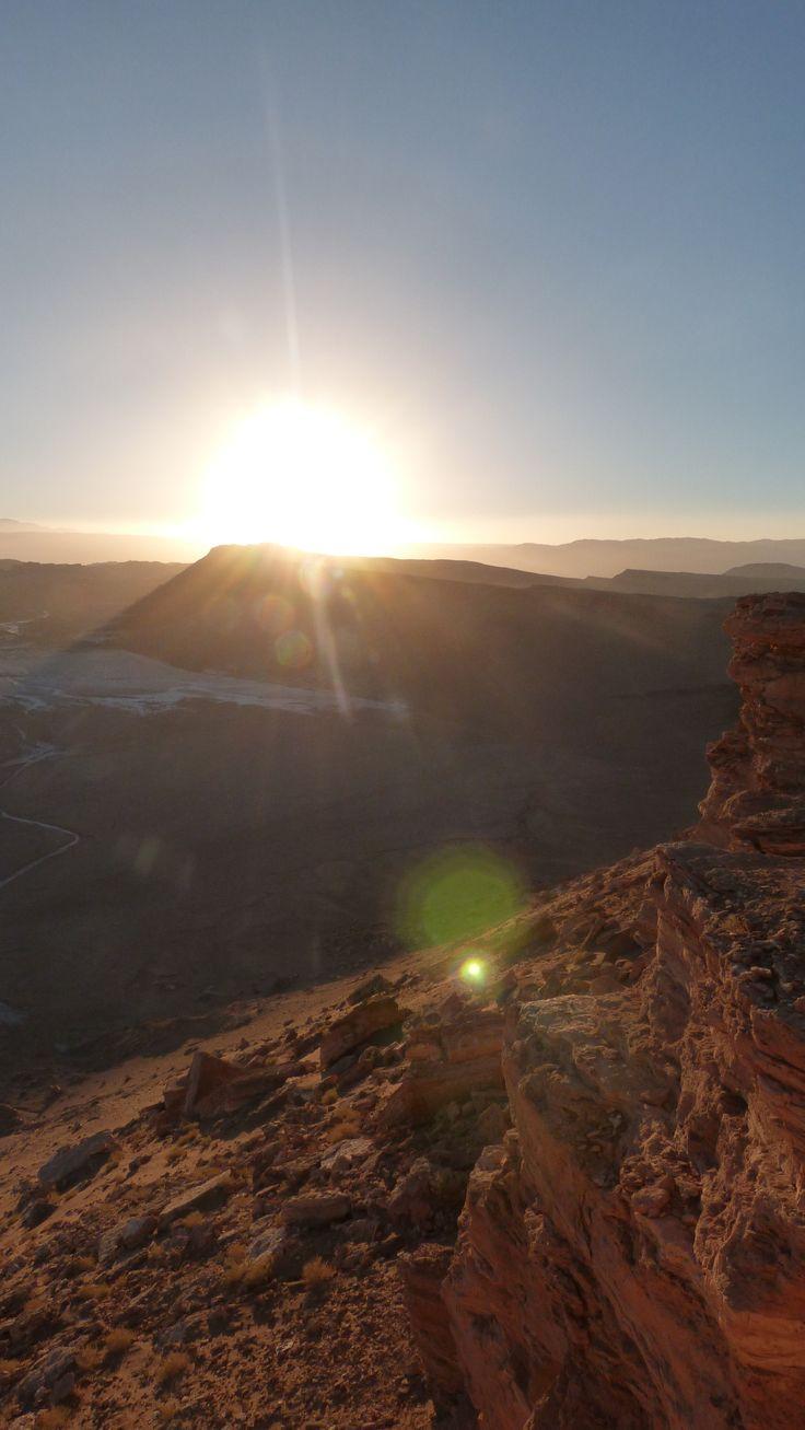 Valle de la Luna, San Pedro de Atacama. Calama, Chile