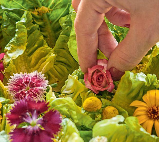 Flores comestíveis! Deixe os pratos lindos e gostosos - Casa