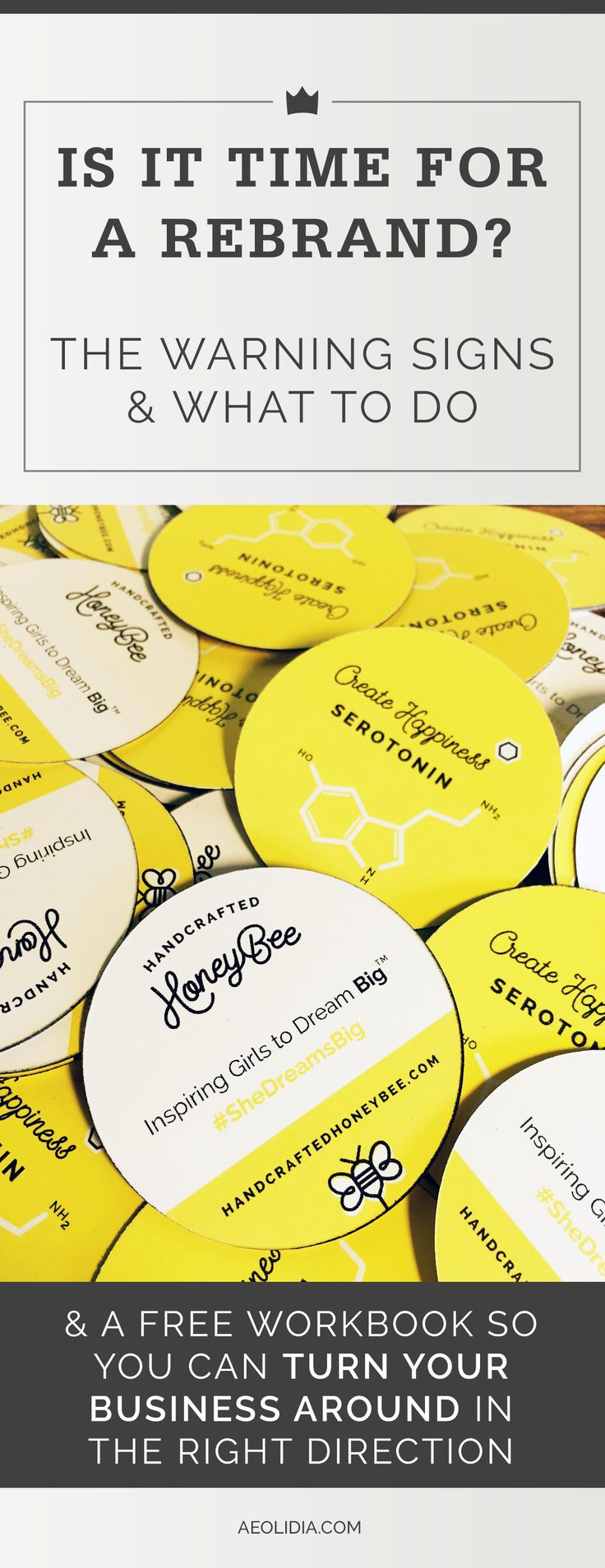 Handcrafted HoneyBee, a skincare kit brand, realized they were selling to the wrong audience. They took stock and decided to completely rebrand their business from the ground up.