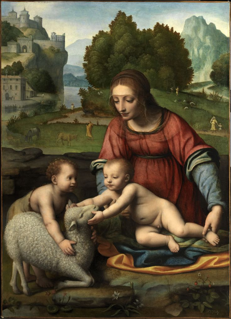 Bernardino Luini (  ca.1480-1532, Italian High Renaissance рainter, Oil on canvas, 86 x 60 cm
