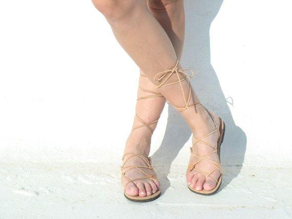 Griekse sandalen