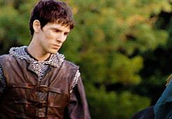 No, you're not imagining: chainmail!Merlin is now available in gif form. (gif set from Lancelot & Guinevere)