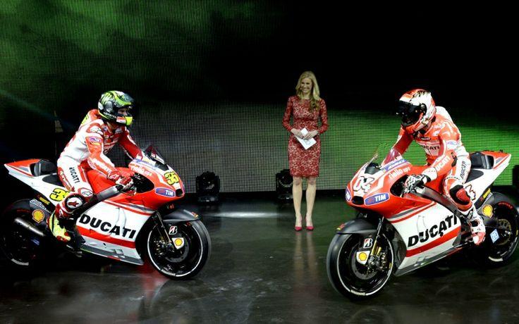 Presentazione Ducati Desmosedici GP14 #ducati #desmosedici #dovizioso #crutchlow