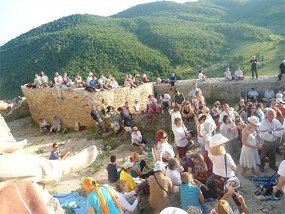 Summer Solstice 2013 at Bosnian Pyramids
