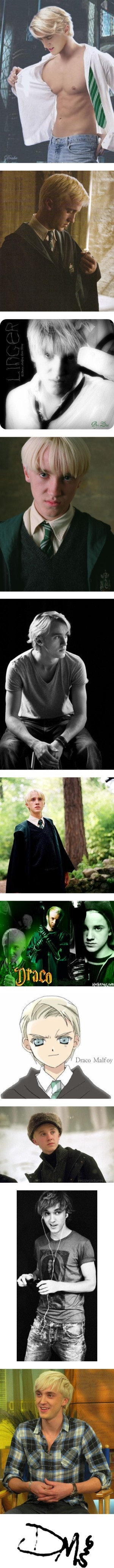 """""""Draco Malfoy ♥"""" by sa-chanx33 ❤ liked on Polyvore"""
