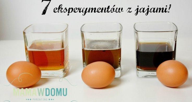 WIELKANOCNE i nie tylko! eksperymenty z jajami #science #kids