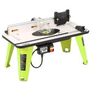 Ryobi 32 in. x 16 in. Intermediate Router Table A25RT02G at The Home Depot - Mobile