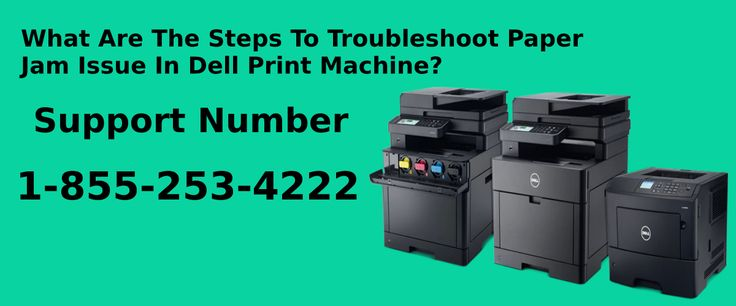 Dell printer is the best print device in the world if you have any trouble like paper jam in your device so, don't worry we will your troubleshoot just call on our Dell printer Support Number Canada 1-855-253-4222. You can also live chat for instant solution in real time.