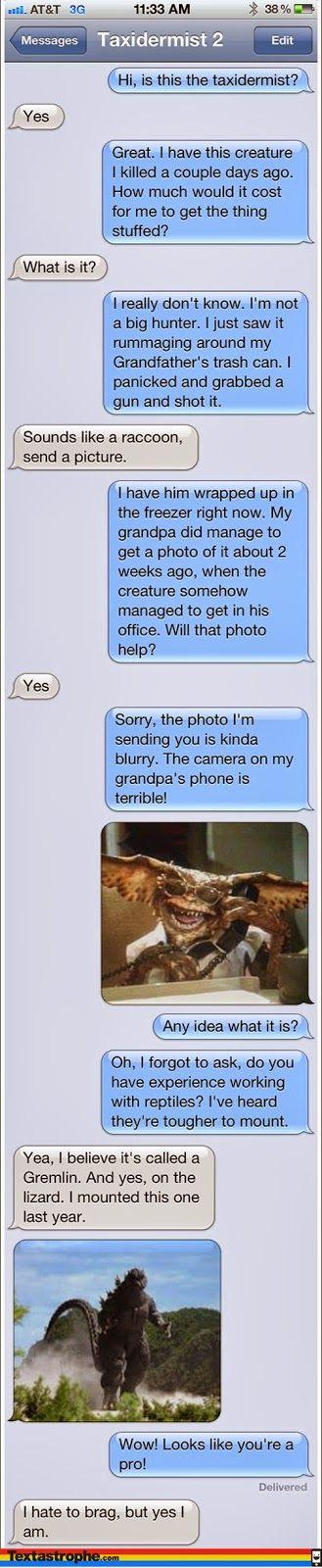 Glorious Pranks Text Messages