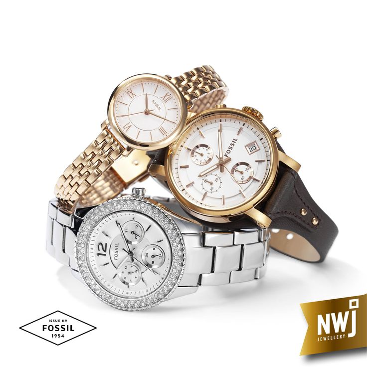 Fossil watches are always a favourite with the ladies