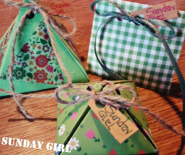 fresh spring handmade packages