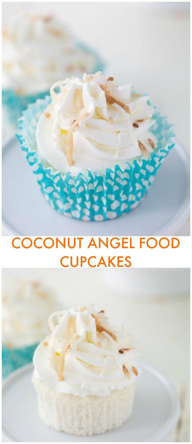 sur le thème Angel Food Cupcakes sur Pinterest | Cupcake, Cupcakes ...