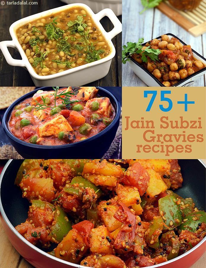 Jain Sabzi Recipes, Jain Gravy Recipes, Tarladalal.com | Page 1 of 6