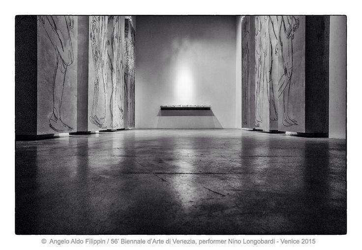 56' Biennale d'Arte di Venezia, performer  Nino Longobardi   / Venezia 2015