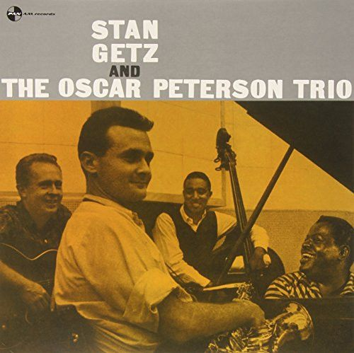 Stan Getz - Stan Getz And The Oscar Peterson Trio on 180g Import LP