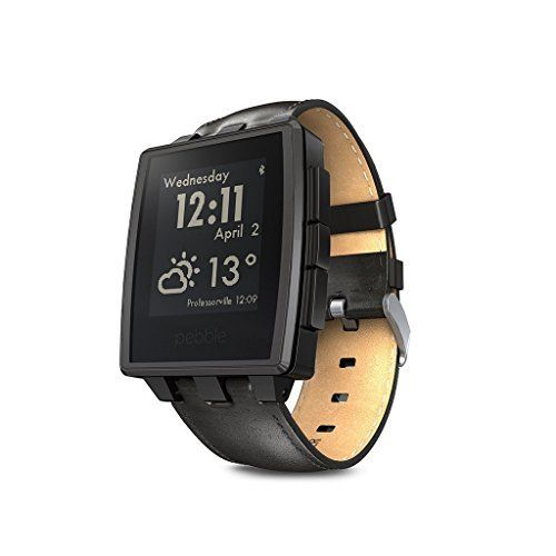 Pebble Steel Smartwatch for iPhone and Android Devices – Matte Black (Certified Refurbished)  http://stylexotic.com/pebble-steel-smartwatch-for-iphone-and-android-devices-matte-black-certified-refurbished/
