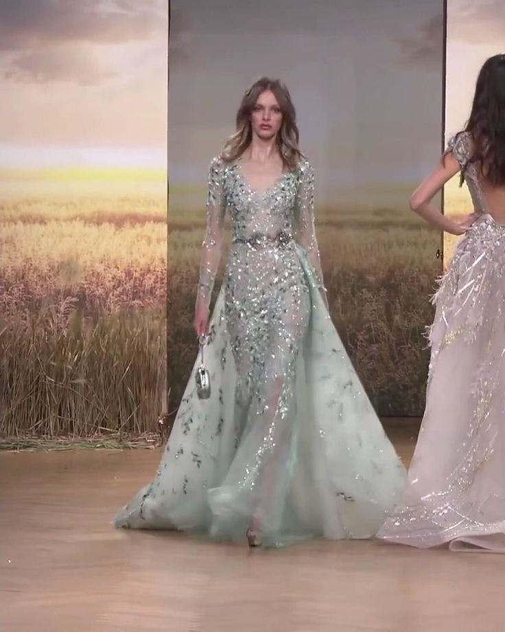 Ziad Nakad Look 32. Spring Summer 2018 Haute Couture Collection