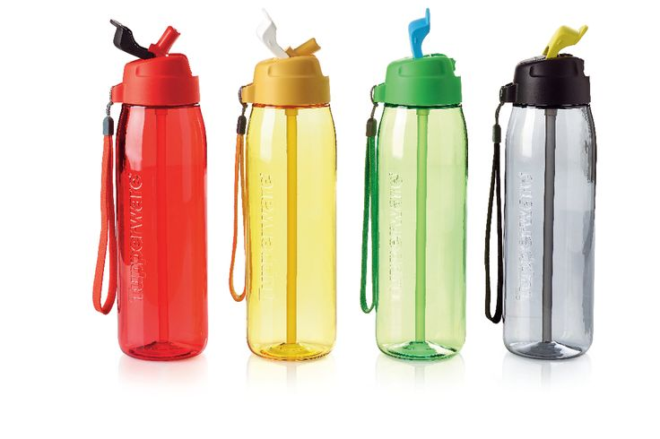Good till the last drop! Pair our Gen II Eco Straw Top with your favorite Eco Water Bottle and sip up every bit of your favorite drink. #Tupperware