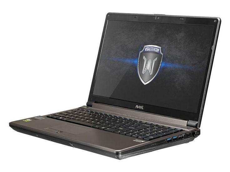 Notebook para uso profissional Avell Titanium W1511 PRO - Um notebook workstation com placa de vídeo GeForce GTX 960M - http://avell.com.br/premier-w1310-pro