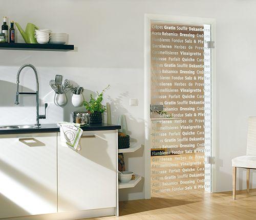interesting kitchen door