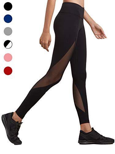 dh Garment Legging Sport Femme Yoga Pantalon Moulant avec Poche TailleHaute  Amincissant Coton - Noir - Taille XL   44-46  512e7274e9e