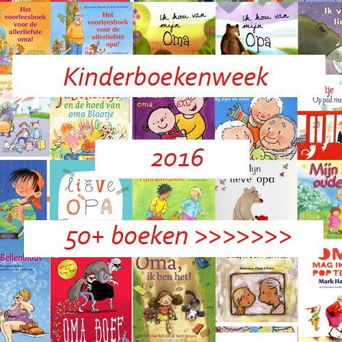 Van 5 - 16 oktober is het Kinderboekenweek 2016. Het thema dit jaar is 'Voor…