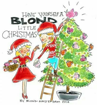 Blond Amsterdam have yourself a Blond little Christmas