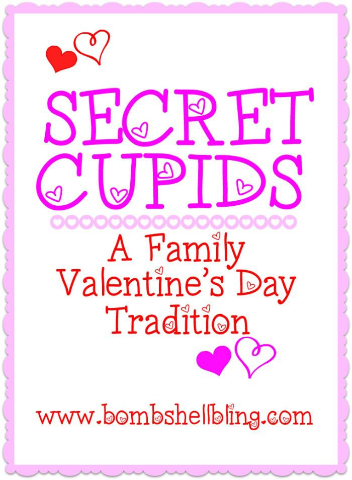 Secret Cupids is a Valentine's Day family tradition to celebrate that the whole family will love!