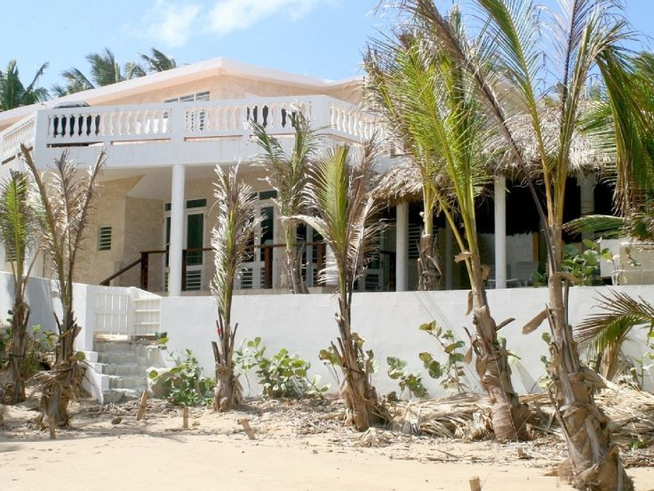 Rincon House Rental Oceanfront Villa W Pool Gazebo Large Bluff Sun