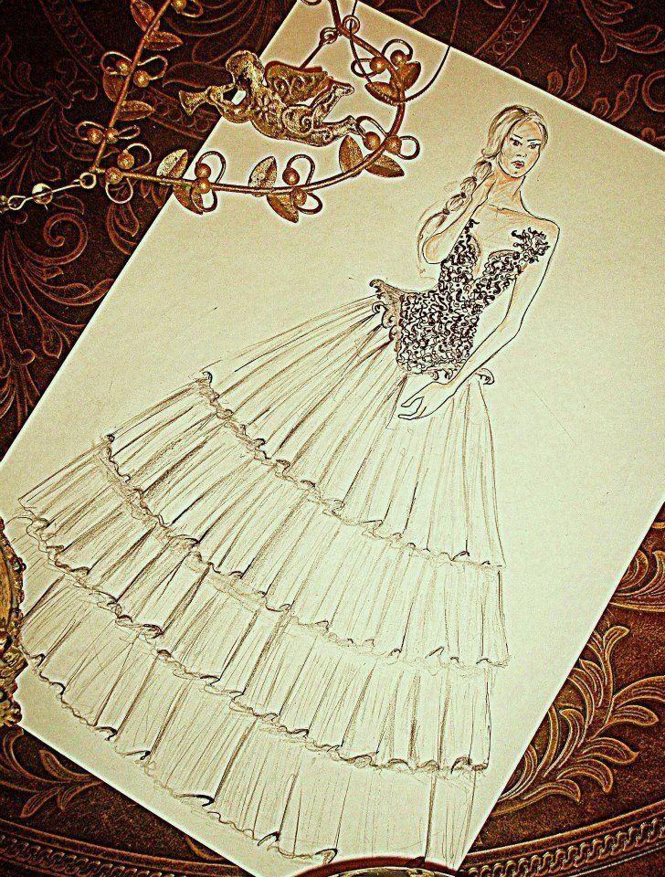 Romantic - wedding - dress