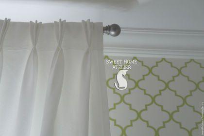 Текстиль, ковры ручной работы. Ярмарка Мастеров - ручная работа. Купить Текстиль в спальне. Handmade. Разноцветный, портьеры, текстиль для дома